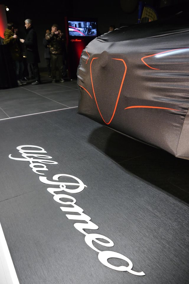 Evento presentazione nuova Alfa Romeo Stelvio