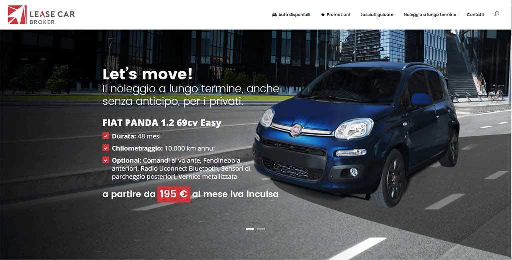 Nuovo sito per Lease Car Broker