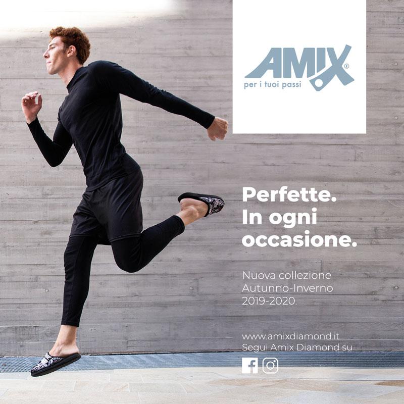 Campagna Amix autunno-inverno 2019-2020