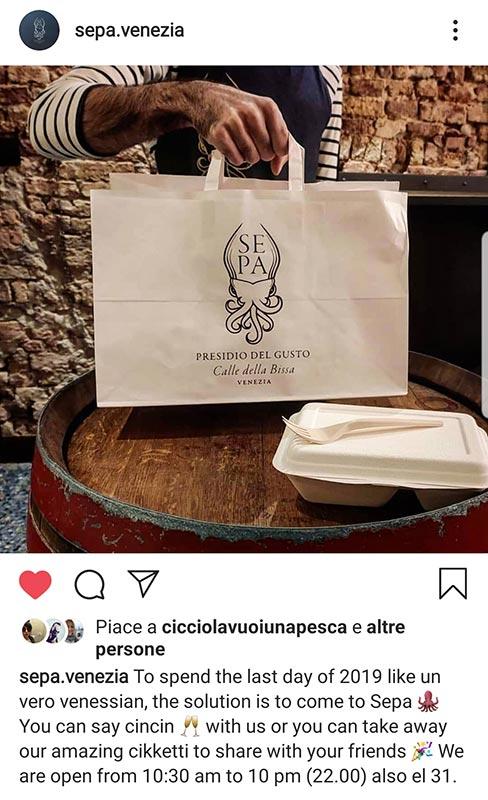 Sepa Venezia, comunicazione e identità di brand