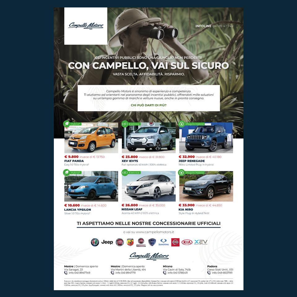 Campagna advertising Campello Motors