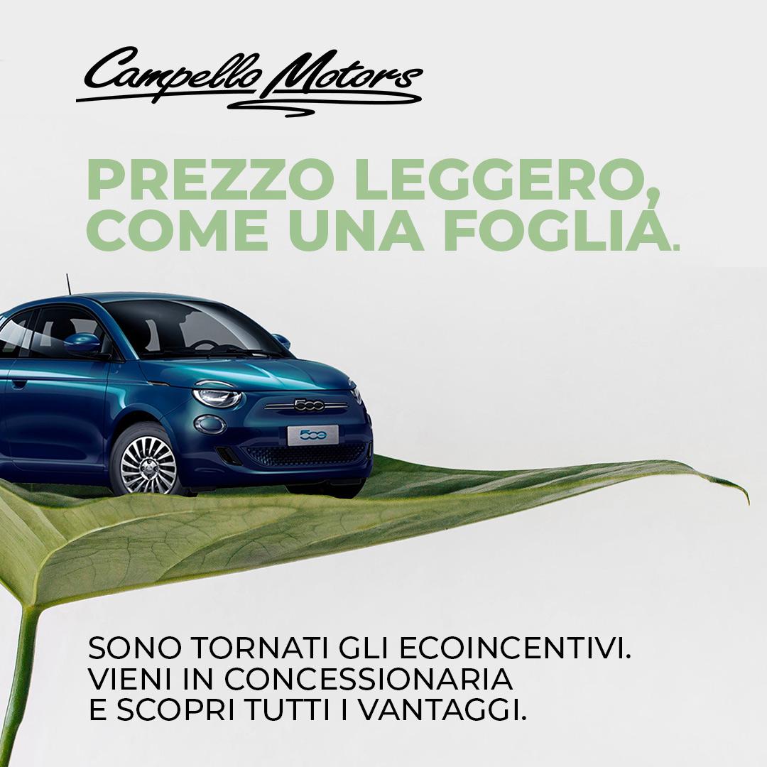 Campagna ecoincentivi Campello Motors